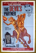 """Would You Make A Deal to be YOUNG with """"THE DEVIL'S PARTNER""""???  - horror poster"""