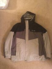Columbia Omnitech Interchange Jacket Mens Size Xl Grey Color