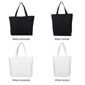 Women Durable Canvas Tote Bag Large Capacity Handbag Casual Shoulder Shopper