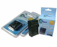 2x Battery +Charger for Panasonic Lumix DMC-SZ7, DMC-S3, DMC-FH27 DMC-FH5 DMC-S3