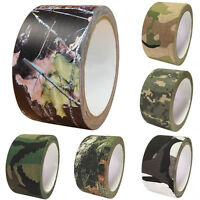 10M Military Army Camo Rifle Shooting Hunting Camouflage Waterproof  Tape