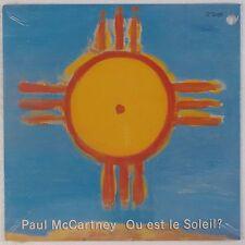 """PAUL McCARTNEY: Ou Est Le Soleil? SEALED '89 MPL Capitol Beatles 12"""" LP"""