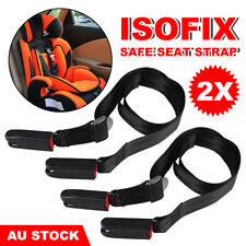 1X Adjustable Isofix Latch Link Belt Anchor Holder Car Baby Kids Safe Seat Strap