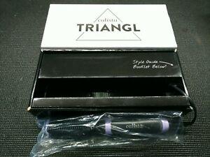 Calista Triangl Hair Straightener Brush purple - NOS