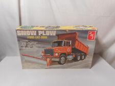 Model Semi Snow Plow Ford LNT-8000
