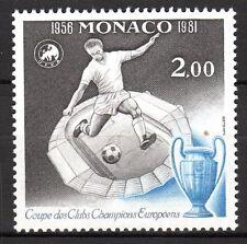 Monaco - 1981 25 years european soccer championship - Mi. 1475 MNH