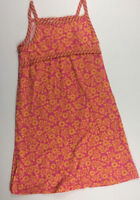 Hanna Andersson US 8 Girls 130 Summer Hot Pink Floral Daisy Dress