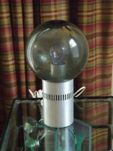 Mid Century Modern Globe Orb Table Lamp Retro