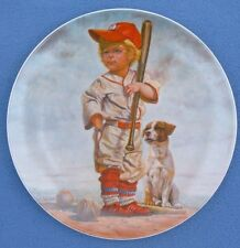 The Big Leaguer Baseball  *  Limited edition G. Perillo Collector's Plate