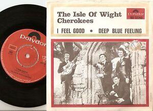 THE ISLE OF WIGHT CHEROKEES FEEL BLUE FEELING SWEDISH 45+PS 1967 MOD FREAKBEAT