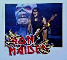 Iron Maiden Steve Harris Bass Player Live Sticker/ Decal  Maiden Eddie New