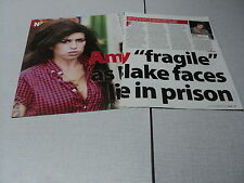 C089 AMY WINEHOUSE '2007 BRITISH CLIPPING
