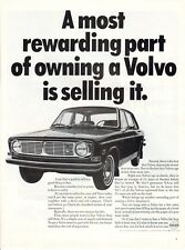 Vintage automobile Print car ad Volvo The most rewarding part of owning 1968 ad