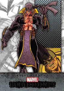 STEEL SERPENT / Marvel Beginnings Series 1 BASE Trading Card #157