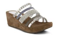 Azura Spring Step Oletha Women's Silver Size 39 EU (8.5 US)