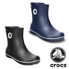 Crocs Jaunt Shorty Fashion Wellies Slip On Womens Wellington Boots Size 3-9 UK