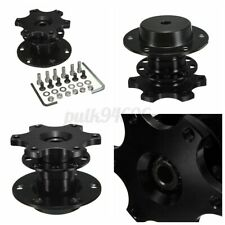 Universal Steering Wheel Quick Release Hub Adapter Removable Snap Off/Boss  #
