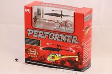 NISP PERFORMER 735 Series Remote Control IR Red White Helicopter