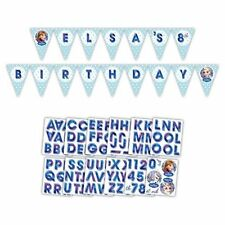 3m Disney FROZEN FOIL BUNTING - Includes Banner & Stickers (Birthday/Party)