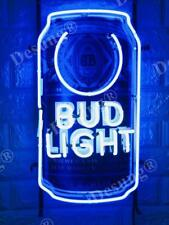 "New Bud light Beer Can Neon Sign 20"" with HD Vivid Printing Technology"
