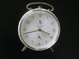Antique German JUNGHANS BIVOX Mantel Alarm Clock