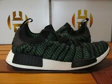 Adidas Originals NMD R1 STLT Runner PRIMEKNIT Black Green 12 AQ0936 ultra Boost