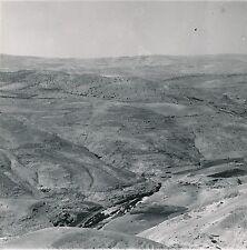 JORDANIE c. 1960 -  Panorama Vallée du Jourdain  - Div 10181