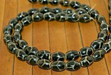 ZC124 34 Inch Strand Black Onyx Stone Chip Beads 5mm to 9mm
