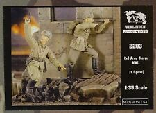 VERLINDEN PRODUCTIONS #2203 WWII Red Army Charge Figuren in 1:35