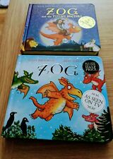 Julia Donaldson Books X2 - Zog and Zog and The Flying Doctors ~ both Hardback