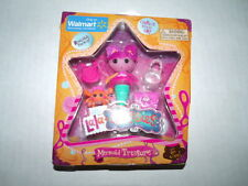 Lalaloopsy Mini Doll Lala-Oopsy MERMAID TREASURE Exclusive NEW in BOX HTF