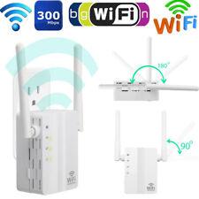 WIFI Repeater 300 Mbit/s WLAN Signal Booster Wifi Verstärker Extender EU Plug