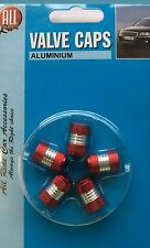 chrome blue dust valve tyre wheel caps lexus is200 renault clio