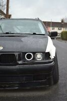 E36 Saloon Compact Front Overfenders Bmw Drift Track Arches Kit Pair Touring