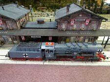 HO Train Engine Locomotive ROCO DR 2-10-0 BR 50-1675 German WWII Markings #F93