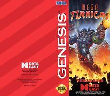 Color Custom Manual MEGA TURRICAN SEGA Mega Drive USA Version - AAA+++