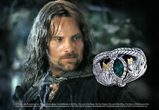 Ring Of Aragorn Lord Of The Rings Sterling Silver Collectible Jewelry