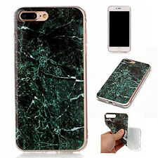GREEN MARBLE SLIM CASE FOR IPHONE 7 PLUS (PERFECT AND FLEXIBLE FIT)