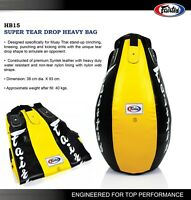 NEW FAIRTEX SUPER TEAR DROP MUAYTHAI Boxing Heavy Bag HB15 UnFilled