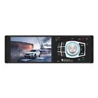 Single 1Din Car Stereo MP5 Player FM Radio Bluetooth 2.0 USB AUX SD TF Head Unit