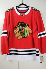 Adidas Hockey Jersey Chicago Blackhawks Red Size 50 Brand New