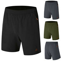 Mens Gym Shorts Training Running Sport Workouts Casual Jogging Pants Trousers G2