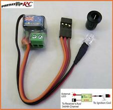 RC Petrol Kill Switch & LED 3 & 4 Ch Oz Made Bee Killer HPI Losi PRC RV KM HSP
