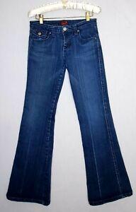 Underground Soul Jeans Olivia Women Sz 8 Blue Denim Bootcut Stretch Casual wear