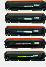 5PK CF400X Toner Compatible For HP 201X LaserJet Pro MFP M277dw M252dw M277 M252