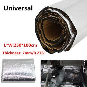 2.5M Firewall Sound Deadener Car Heat Shield Insulation Deadening Material 7mm