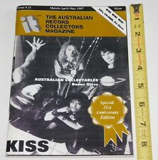 KISS Band Australian Record Collectors Magazine 1997 Aussie Discography