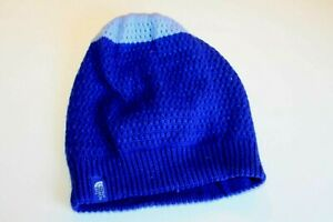 The North face Youth Dock Junior  Beanie Cobalt Blue  knit    size M/M ..