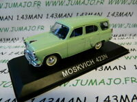BAL44 Voiture 1/43 IXO DEAGOSTINI Balkans :  MOSKOVITCH 423N break