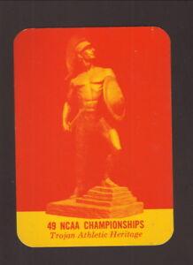 USC Trojans--1970-71 Basketball Pocket Schedule